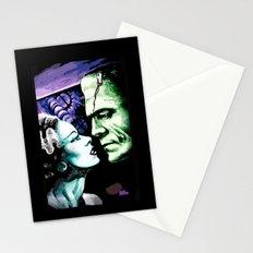 Bride of Frankenstein Monsters in Love Stationery Cards