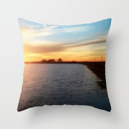 Spring Comes Softly Throw Pillow