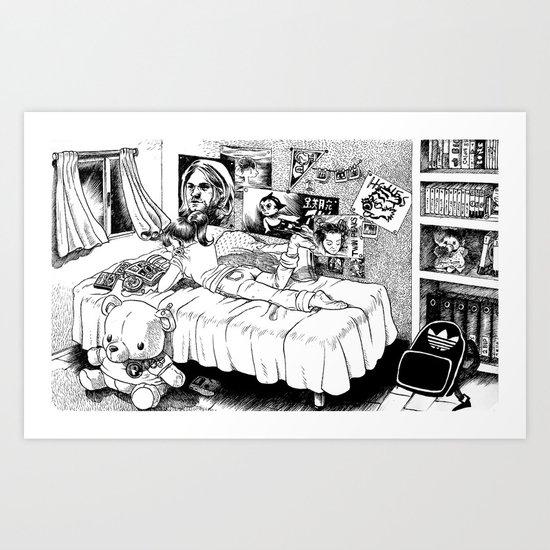 Chicle. Art Print