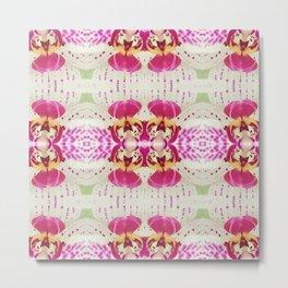 Flower Series I [Orchid] Metal Print