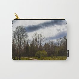 road in a forest Carry-All Pouch