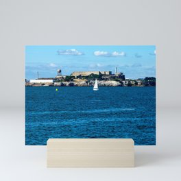 Alcatraz Island, San Francisco Mini Art Print
