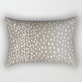 Antelope Fawn Print Rectangular Pillow