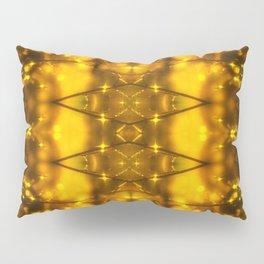 Sparkling Drops-yellow pattern Pillow Sham