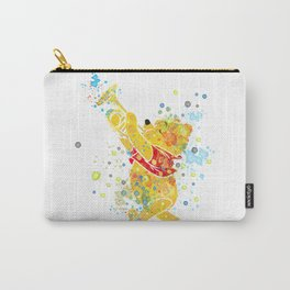 Winnie The Pooh Watercolor Art Carry-All Pouch