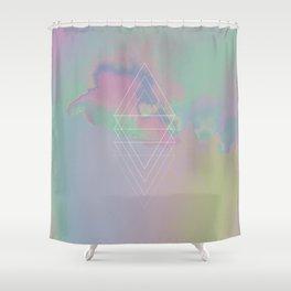 Watching Etna 1983 Shower Curtain