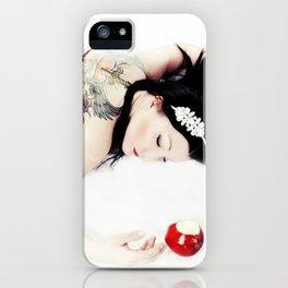 Hard Core SnoWhite iPhone Case