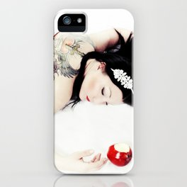 Hard Core SnoWhite iPhone Case
