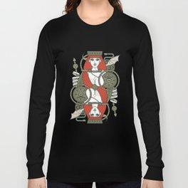 SINS Mentis - Lust Queen of Hearts Long Sleeve T-shirt