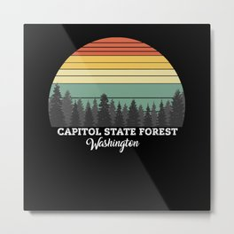 Capitol State Forest Washington Metal Print