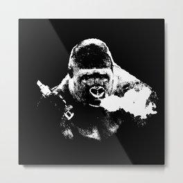 Gorilla Vape Metal Print