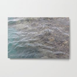 Shallow Sea Metal Print