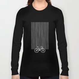 Red Bike by Friztin Long Sleeve T-shirt