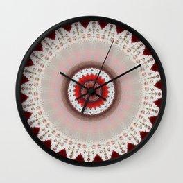 Lazy Laze Mandala Wall Clock