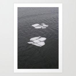 Ice Art Print