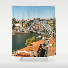 Porto Panoramic Shower Curtain