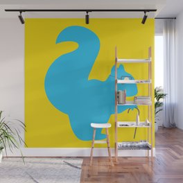The Blind Squirrel Wall Mural