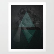 Sirius, the brightest star Art Print