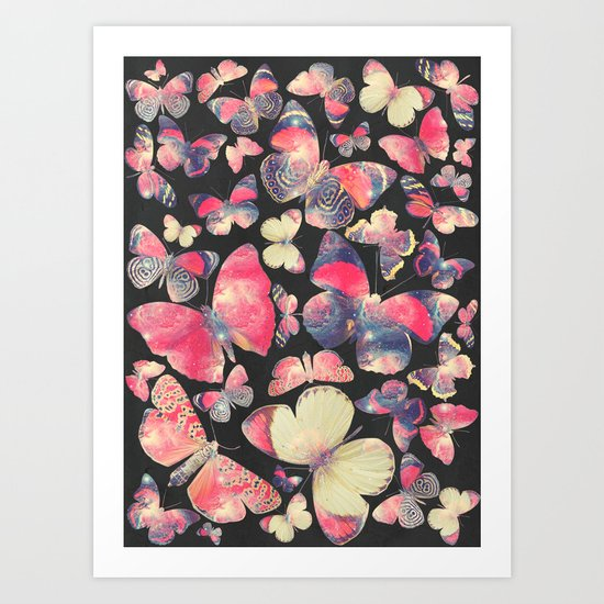 Come with me butterflies II. Art Print