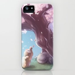 One Fine Spring Afternoon 2 iPhone Case