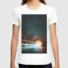 Yosemite Tunnel Light Trail T-shirt