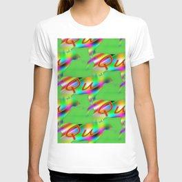 Qu - pattern 1 T-shirt