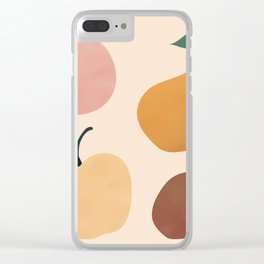 Four Fruit Clear iPhone Case