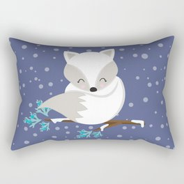 WINTERLAND FOX 2 Rectangular Pillow