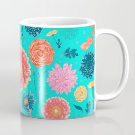 English garden flowers Coffee Mug