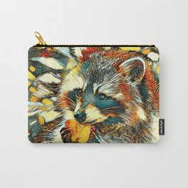 AnimalArt_Raccoon_20170601_by_JAMColorsSpecial Carry-All Pouch
