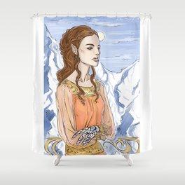 fae girl Shower Curtain