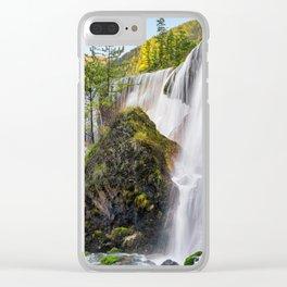 Pearl Shoal Waterfall Jiuzhaigou Aba Sichuan China Ultra HD Clear iPhone Case