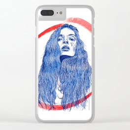 Girl Gang: Not Sorry Clear iPhone Case