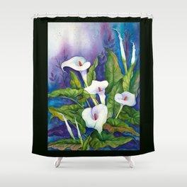 Calla Lillies Shower Curtain