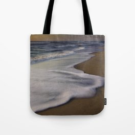 Seafoam and Sunrise, Cape Hatteras, North Carolina Tote Bag