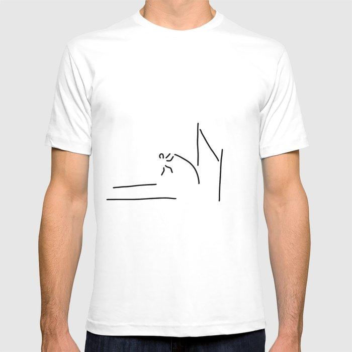 pole vault athletics T-shirt