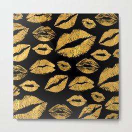 Lips 8 Metal Print