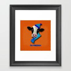 I'm Friesian Framed Art Print