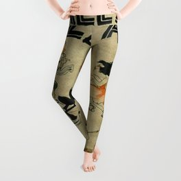 Tales of the Jazz Age vintage book cover - Fitzgerald Leggings