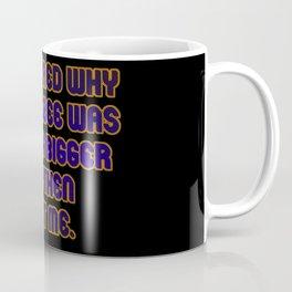 Funny One-Line Frisbee Joke Coffee Mug