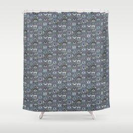 Mystic Eyes Shower Curtain