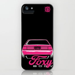 Foxy Body Pink iPhone Case