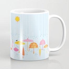 Pretty Parasols for Precipitation LineUp Coffee Mug