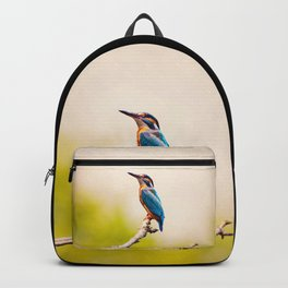 Kingfisher on the Branch Backpack