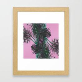 Chroma Palms Framed Art Print