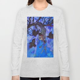 Ravenwitch - Shades of Blue Long Sleeve T-shirt