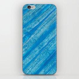Acrilic Blue iPhone Skin