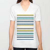 golf V-neck T-shirts featuring Golf by Simi Design