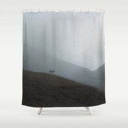 Ridge Reindeer Shower Curtain