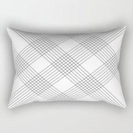 Crossing lines Rectangular Pillow
